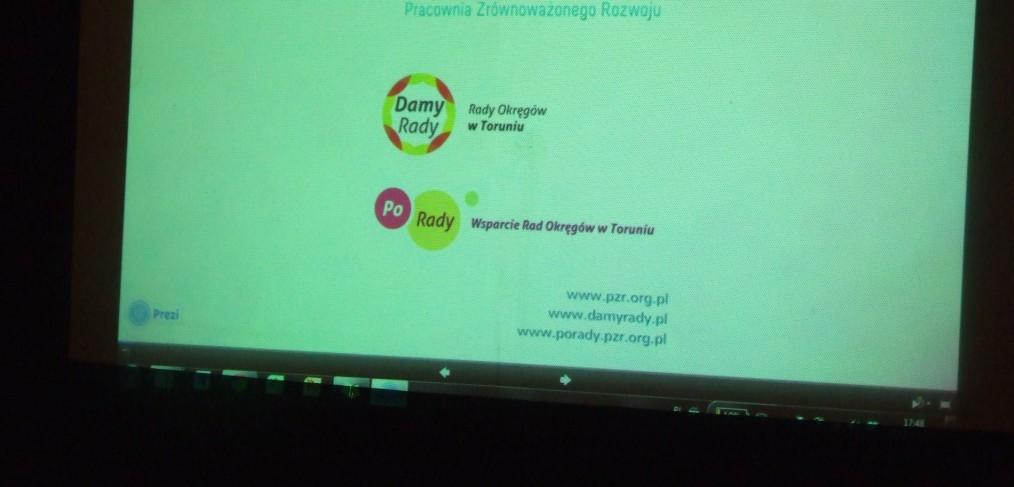 Prezentacja w Szczecinie.