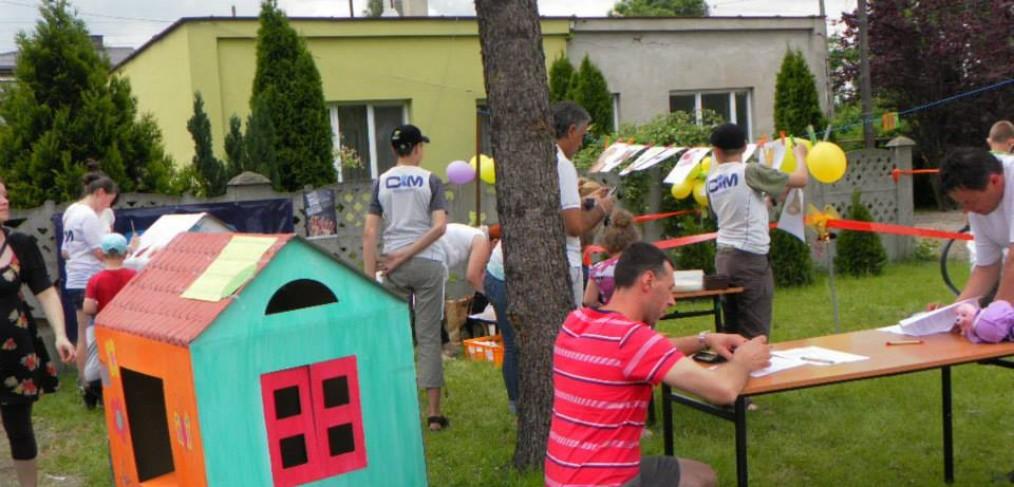 Piknik rodzinny i debata nad projektem Masz Głos, Masz Wybór 2013 Radomsko