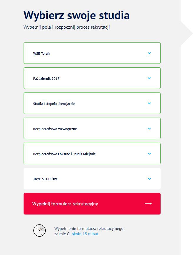 Formularz rekrutacyjny